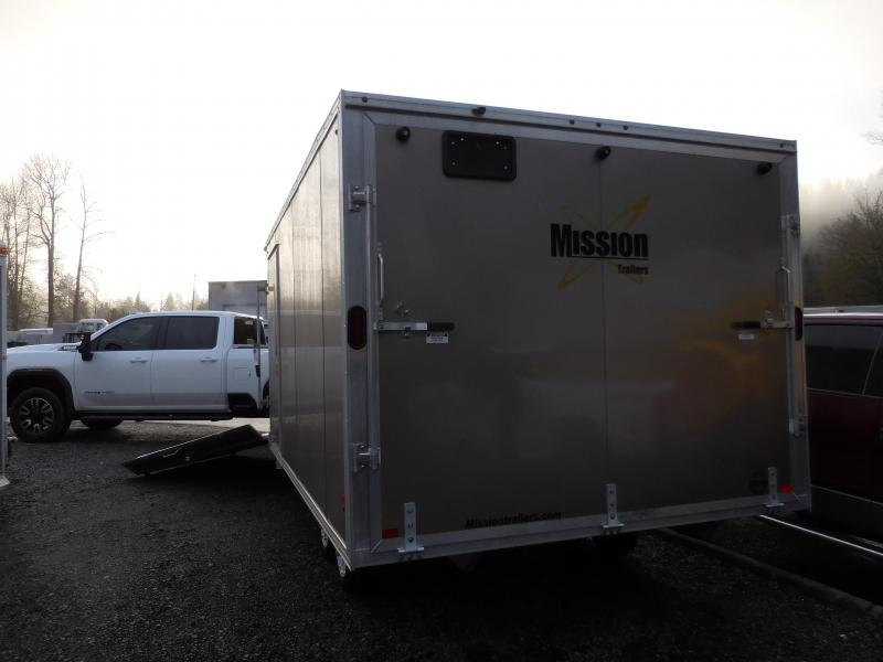2020 Mission 101x14 Snowmobile Trailer