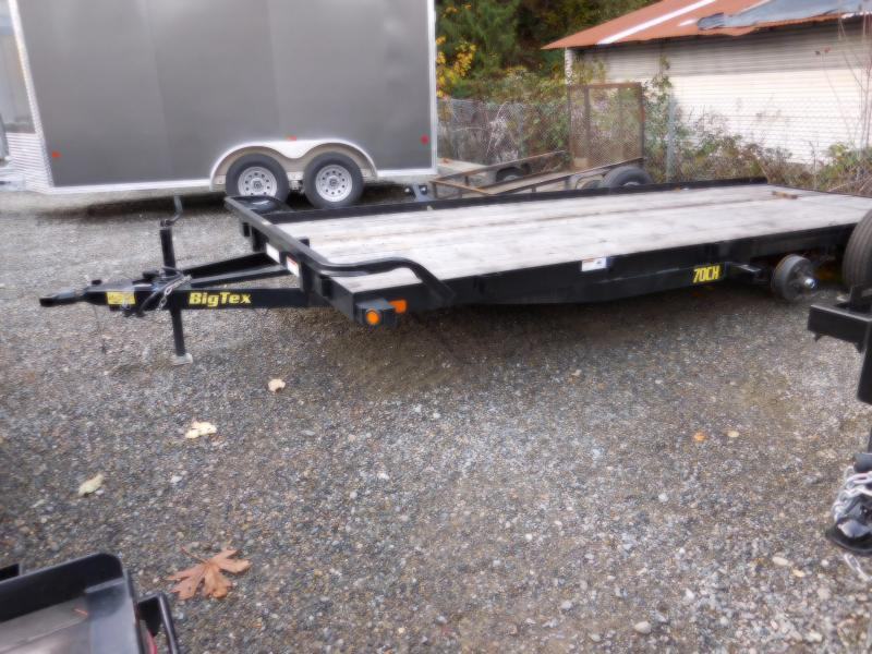 Big Tex 7x18 70CH Flatbed Trailer