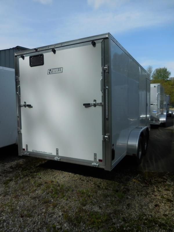 2019 EZ Hauler 7x16 All Aluminum Enclosed Cargo Trailer