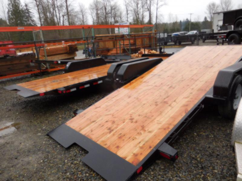 Big Tex Trailers 14TL 83x22' Flatbed Tilt Deck Trailer