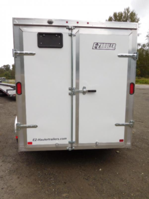 2019 EZ Hauler 6x10 All-Aluminum Enclosed Cargo Barn Doors Trailer