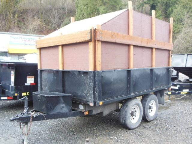 dump trailers trailers nw horse trailers utility cargo. Black Bedroom Furniture Sets. Home Design Ideas