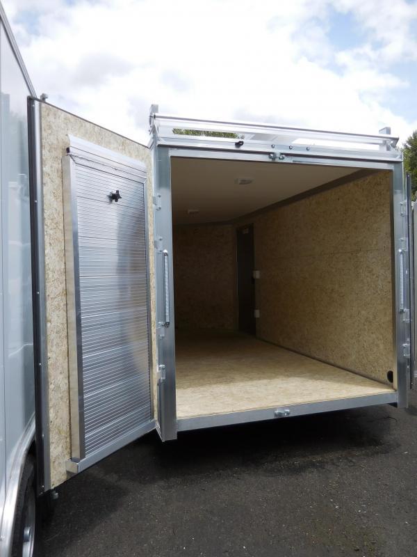 2019 EZ Hauler 7x14 Ultimate Contractor Pkg Enclosed Cargo Trailer
