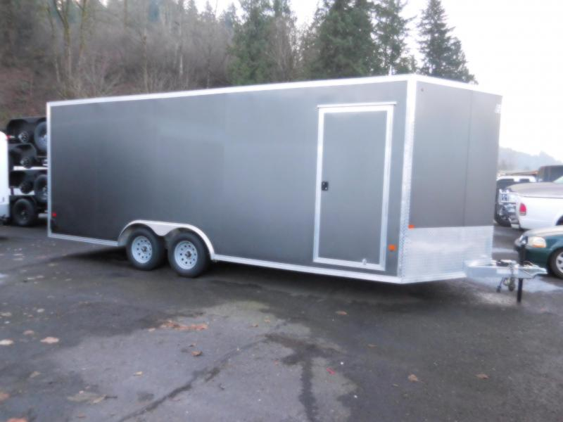 2019 E-Z Hauler 8x20 Car Hauler Enclosed Cargo Trailer