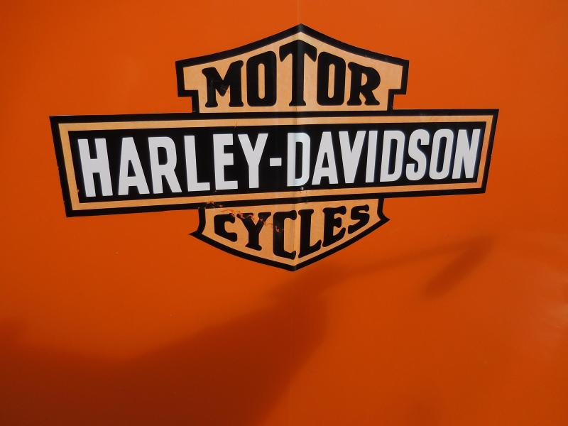 2013 Haulmark Harley Davidson Edition Motorcycle Cargo Trailer