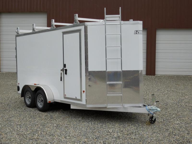 2020 EZHAULER 7x14 Contractor Enclosed Cargo Trailer