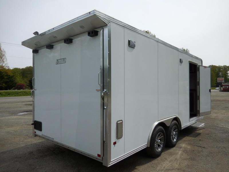 2019 EZ Hauler 8x18 Custom Enclosed Car Hauler Trailer