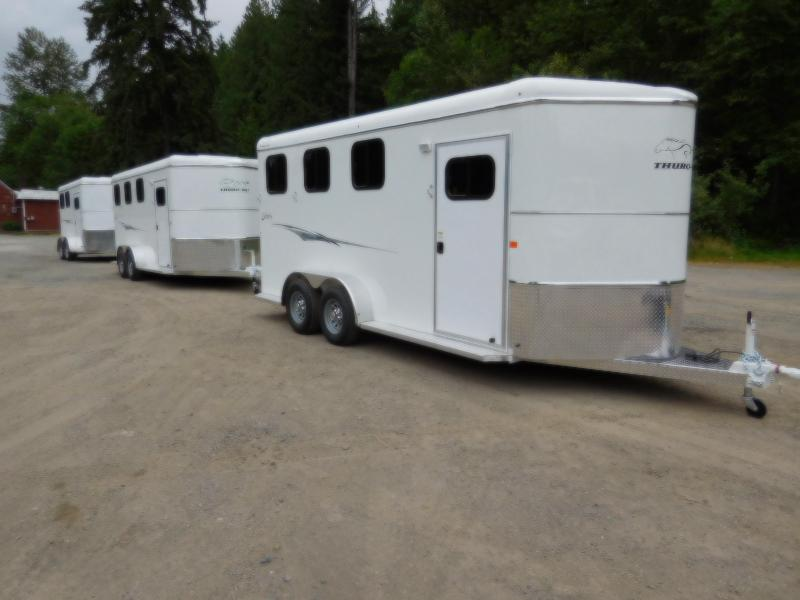 2018 Thuro-Bilt Liberty 3-Horse Slant Trailer
