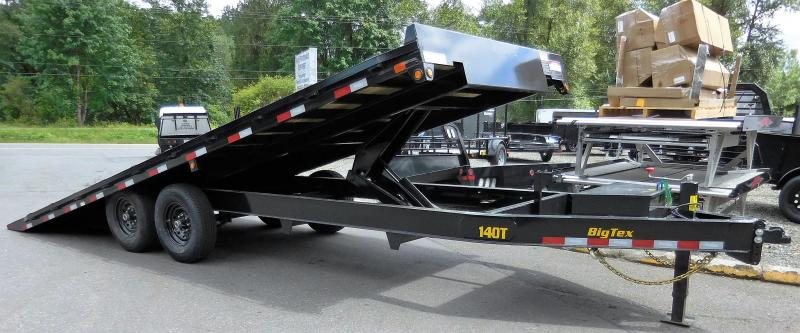 2020 Big Tex 14OT-22 Over-The-Axle Full-Tilt Power Up/Down Trailer