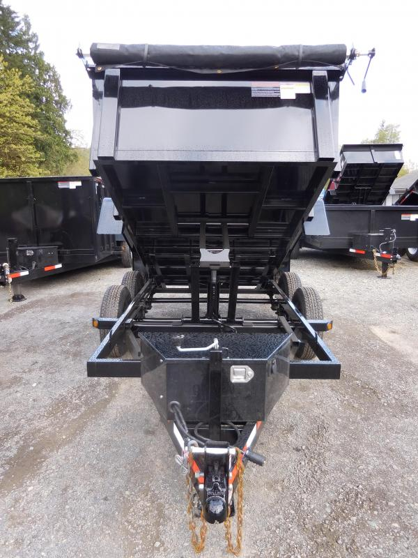 2020 ABU 6x10 10K Scissor Hoist Dump Trailer