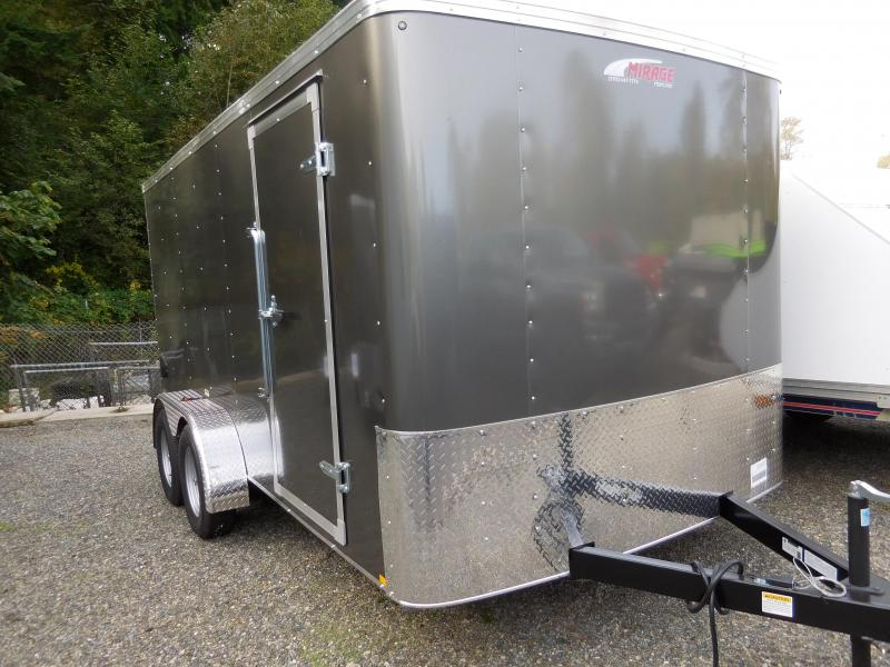 2020 Mirage Trailers 7x14 XPO Enclosed Cargo Trailer