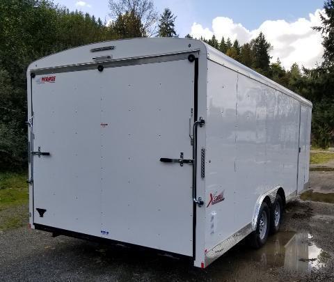 2020 Mirage Trailers 8.5x20 Enclosed Cargo Trailer