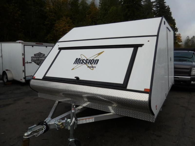 "2020 Mission 101""x12' Crossover Enclosed Cargo Trailer"