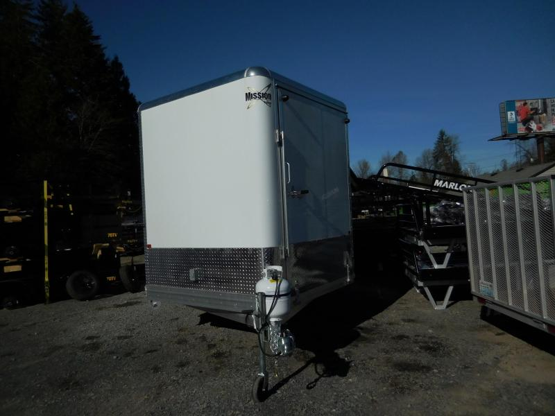 2020 Mission MES 101X24 Enclosed SnowmobileTrailer