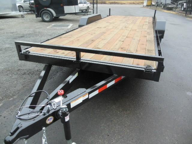 Iron Eagle 7x18 10000# Series Flatbed Trailer