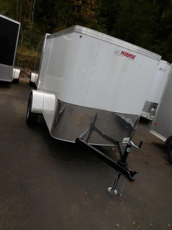 2020 Mirage Trailers 5x8 XPO Enclosed Cargo Trailer