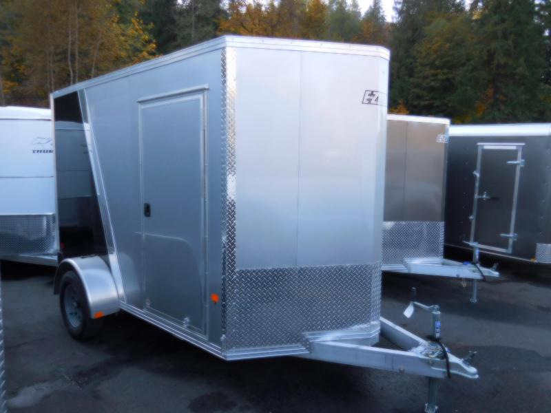 2019 EZ Hauler V-Nose 6x10 All-Aluminum Enclosed Cargo Trailer