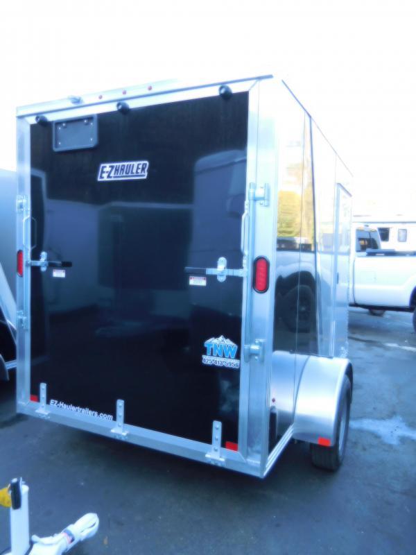 2019 EZ Hauler V-Nose 6x10 All-Aluminum Enclosed Cargo Trailer