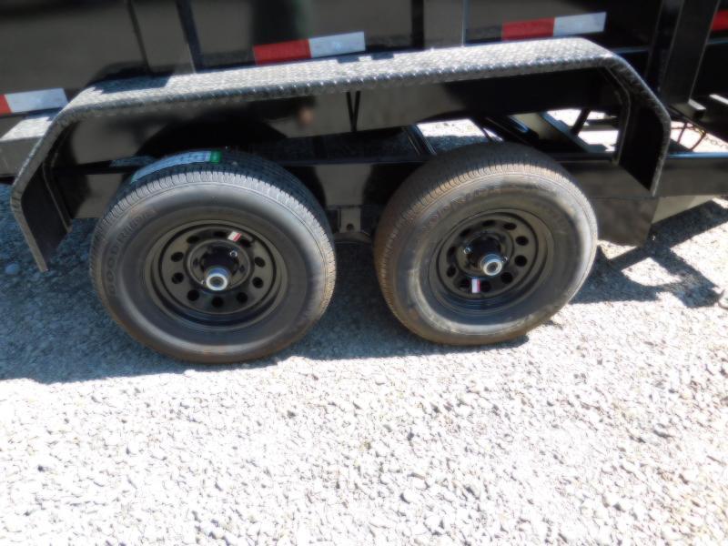 Big Tex  6X10 90SR Single-Ram Dump Trailer
