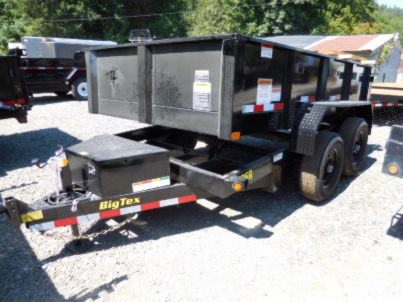 Big Tex  6X10 90SR Single-Ram Dump Trailer
