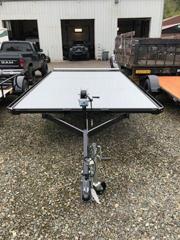 2019 Iron Eagle 6x12 Versamax Flatbed Trailer