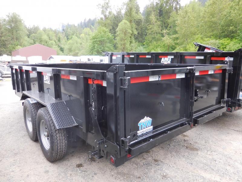 2020 ABU 14k 7x16 Dump Trailer