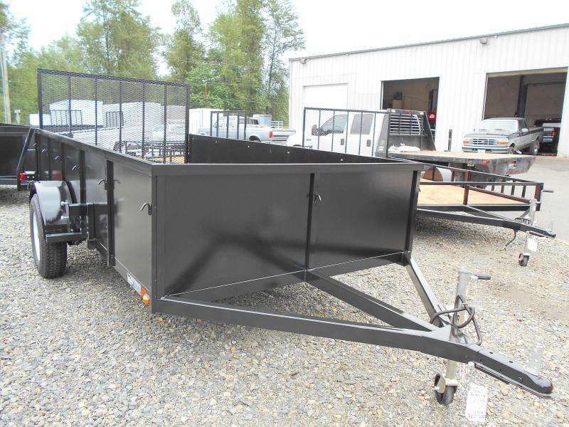 2020 Iron Eagle Voyager 6x12 Landscape Ramp Utility Trailer