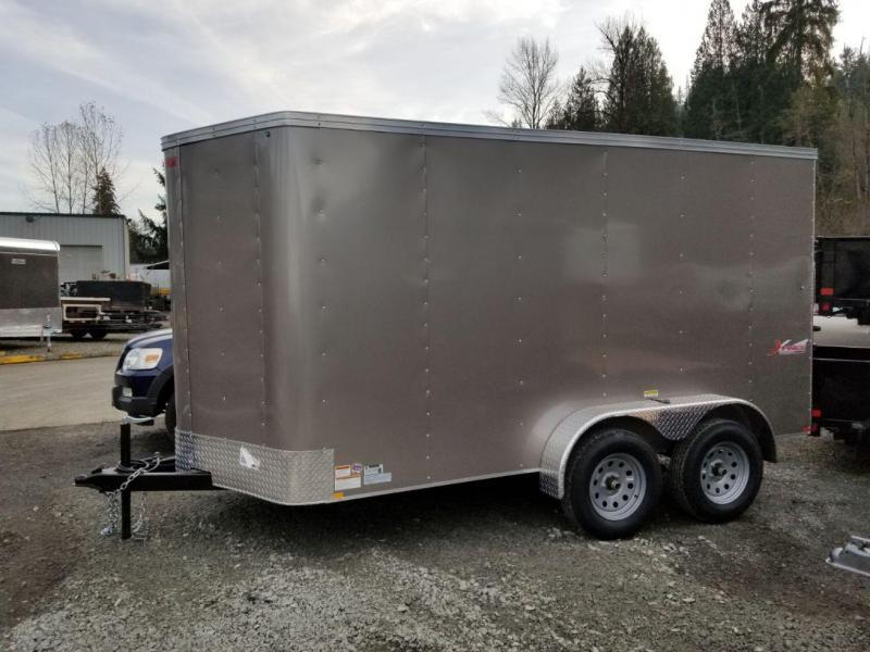 2020 Mirage Xpres 6x12 Tandem Axle Enclosed Cargo Trailer
