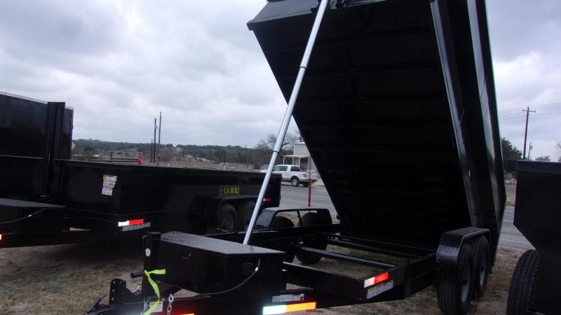 2020 U.S. Built 7' X 14' X 4' - 16K GVWR - 14 Ply Tires  - Dump Trailer
