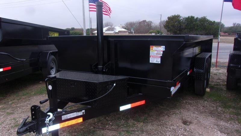2020 U.S. Built 7' X 14' X 2' Dump Trailer
