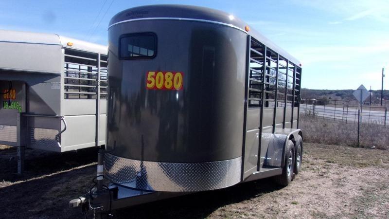 """2020 Calico Trailers 16' X 6' X 6'6"""" Livestock Trailer"""