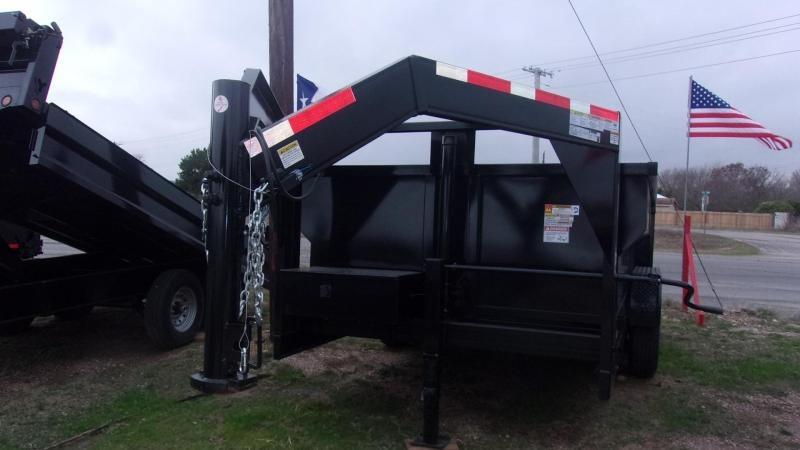 2020 U.S. Built 7' X 14' X 3'  - 16K GVWR - 14 Ply Tires -Dump Trailer