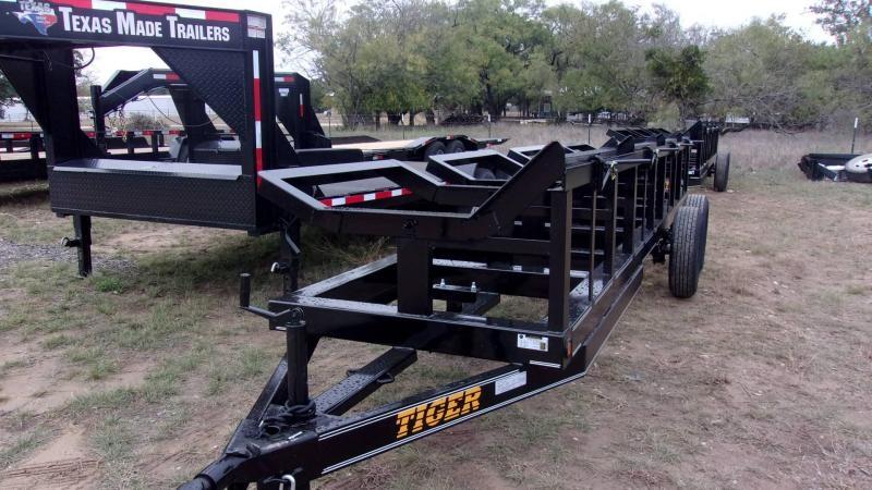 "2020 Tiger 48"" X 20' 4 BALE HAY Utility Trailer"