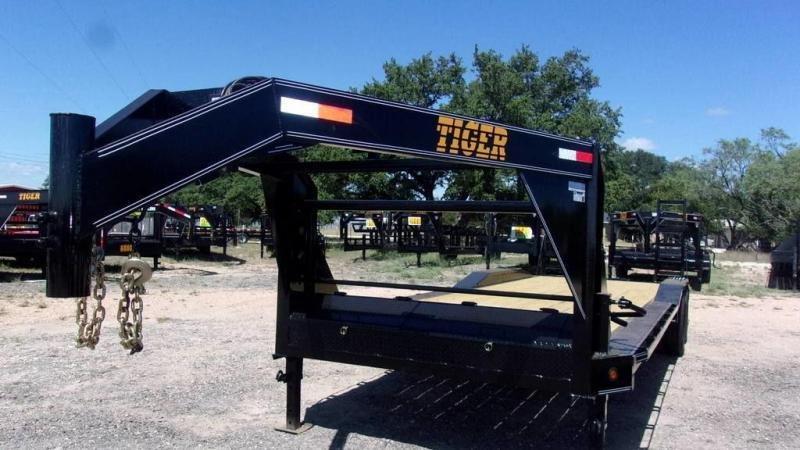 """2020 Tiger 102"""" x 26' 14K Drive Over Fender Trailer"""