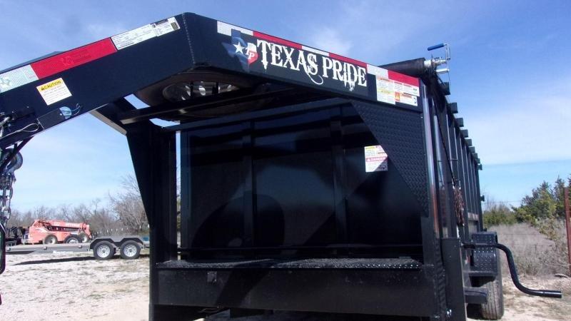 2020 Texas Pride Trailers 7' X 16' X 4' Dump Trailer
