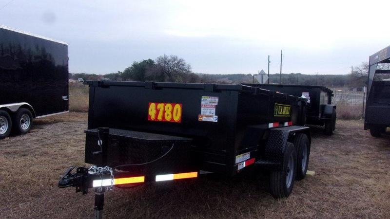 2020 US Built 6 x 10 7K Dump Trailer