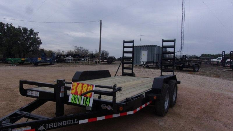 "2020 Iron Bull 83"" x 14' 14K Equipment Trailer"