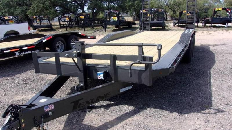 "2020 Texline 102"" x 22 14K Drive Over Fenders Bobcat Trailer"