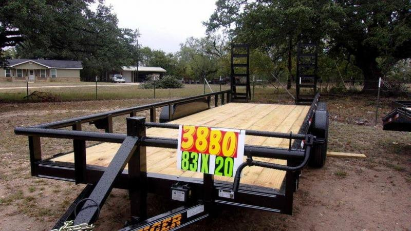 "2020 Tiger 83"" x 20' 14K Heavy Duty Trailer"