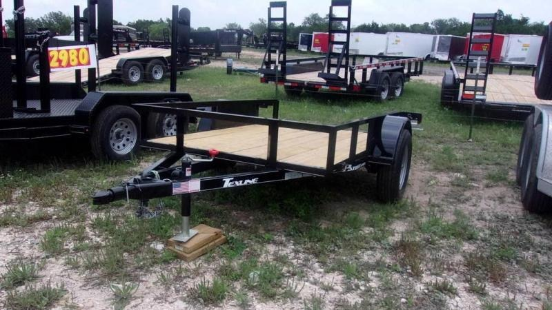 2019 Texline 5 x 8 Single Axle Utility Trailer