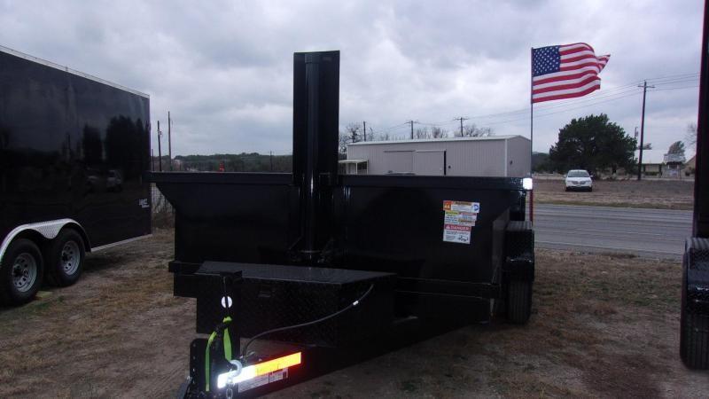 2020 U.S. Built 7' X 16' X 2'  - 16K GVWR - 14 Ply Tires -Dump Trailer