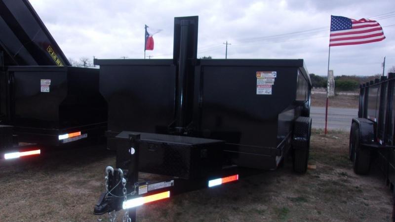 2020 U.S. Built 7' X 16' X 3'  - 16K GVWR - 14 Ply TIRES - Dump Trailer