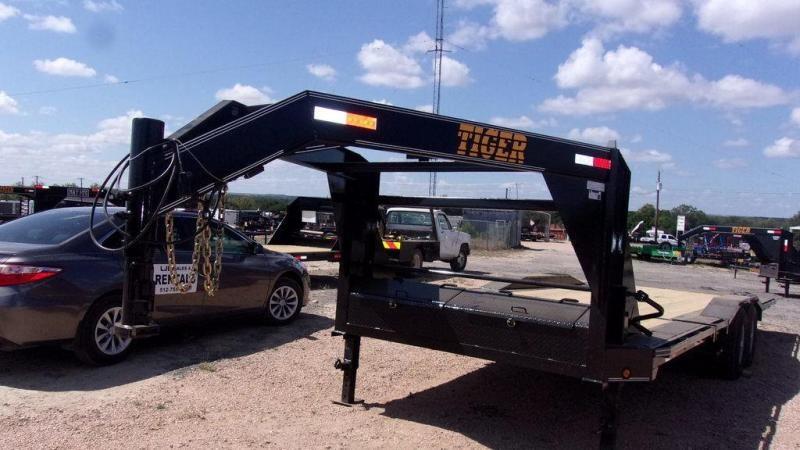 """2019 Tiger 102"""" x 26' 14K Drive Over Fender Tilt Trailer"""