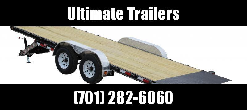 "2019 PJ Trailers 22' x 83"" Hydraulic Quick Tilt (TH) Car / Racing Trailer"