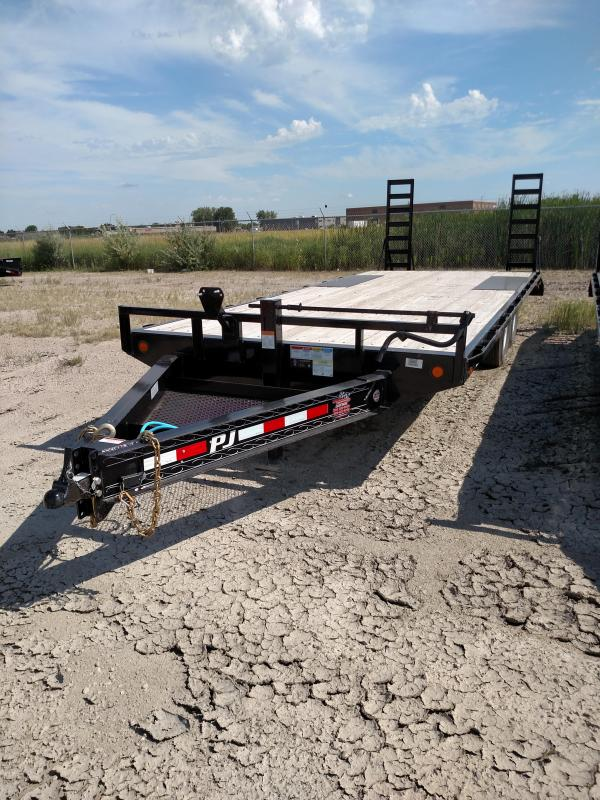 2020 PJ Trailers F8 Series 20' Deckover Flatbed Trailer