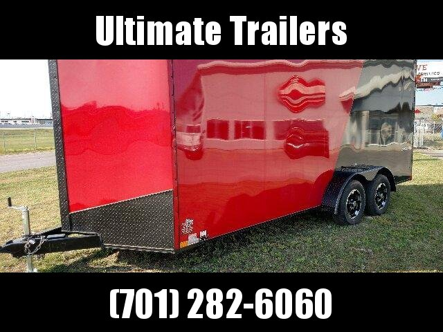 2020 Impact Trailers ITS718TA35-8.5-S Enclosed Cargo Trailer