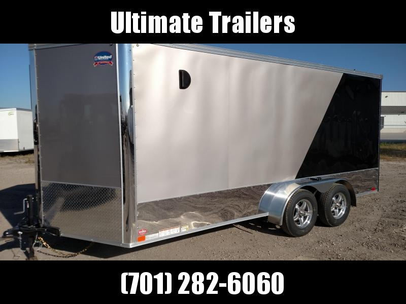 2019 United Trailers XLMTV716TA35-8.5-S Motorcycle Trailer