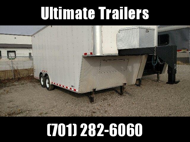 2006 United Trailers URSGN8.526TA52 Enclosed Cargo Trailer