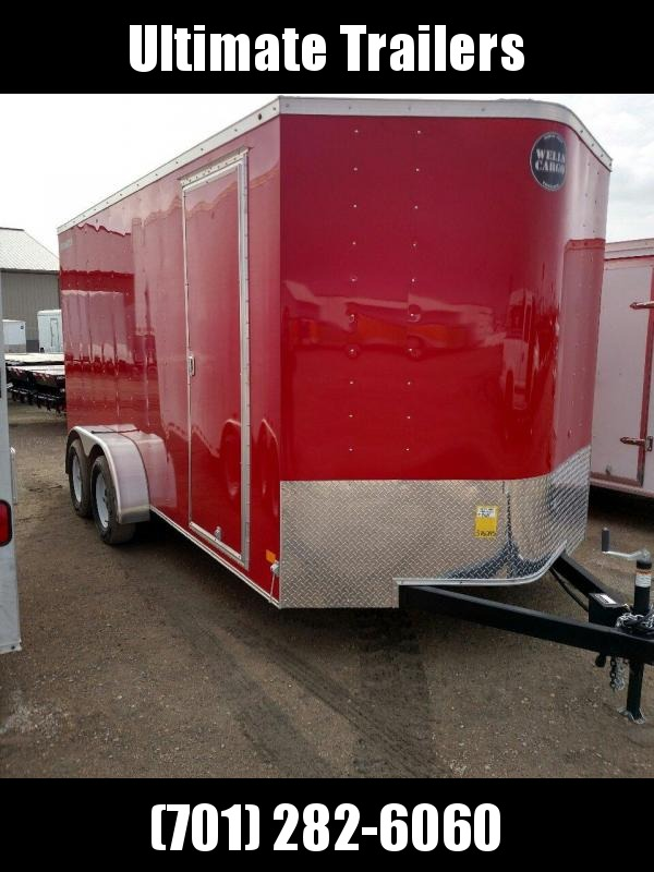2019 Wells Cargo FT7162 Enclosed Cargo Trailer