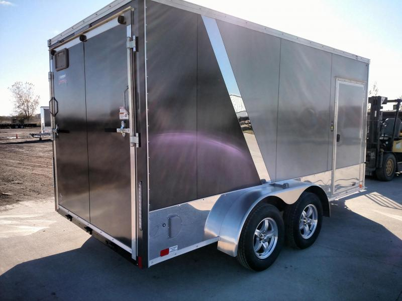 2020 United Trailers XLMTV714TA35-8.5-S Motorcycle Trailer